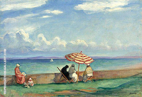 By The Sea1 By Henri Lebasque