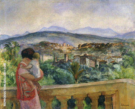 Cannes in Spring By Henri Lebasque