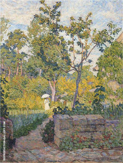 Garden at Champigny By Henri Lebasque