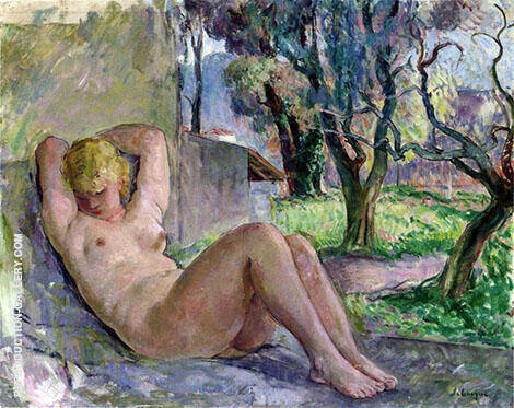 Large Nude By Henri Lebasque