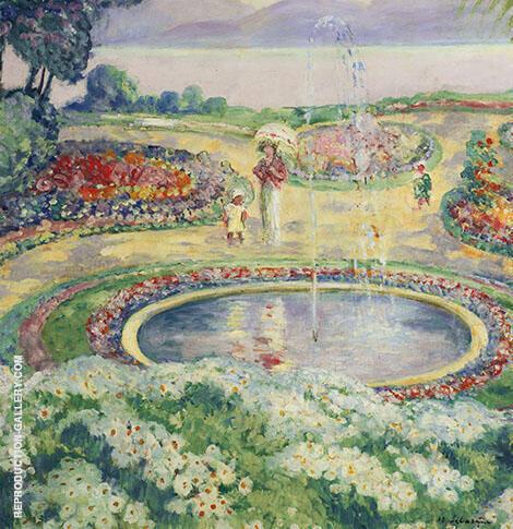 Le Jardin Fleuri By Henri Lebasque
