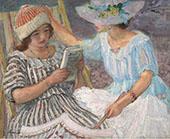 Marthe and Nono 1917 By Henri Lebasque