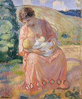 Mother and Child By Henri Lebasque