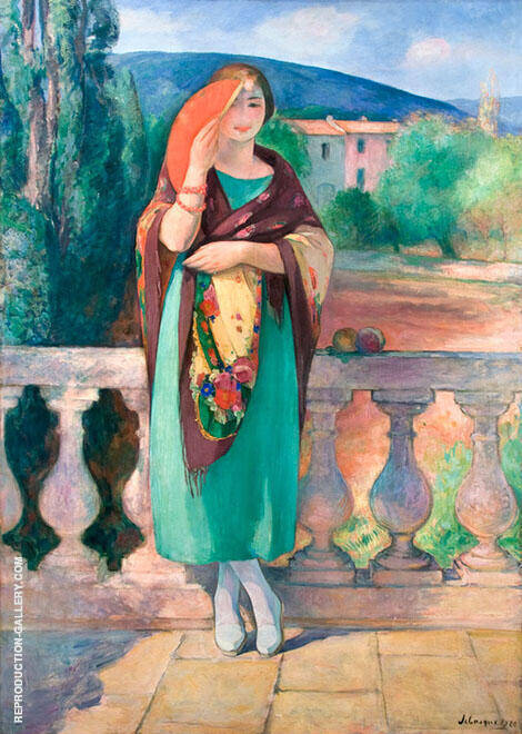 Nono in Costume By Henri Lebasque
