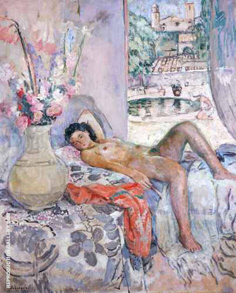 Nude By Henri Lebasque
