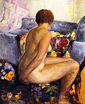 Seated Nude By Henri Lebasque
