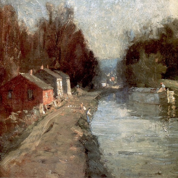 Oil Painting Reproductions of William Langson Lathrop