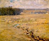 Bucks County Landscape By William Langson Lathrop