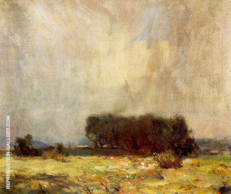Coming Storm Painting By William Langson Lathrop - Reproduction Gallery