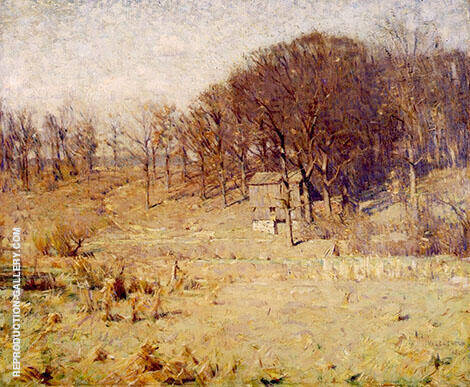 Landscape Painting By William Langson Lathrop - Reproduction Gallery