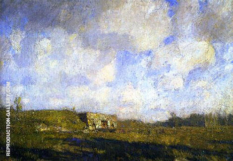 Old Limekiln Painting By William Langson Lathrop - Reproduction Gallery