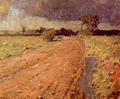 Red Shale Road By William Langson Lathrop
