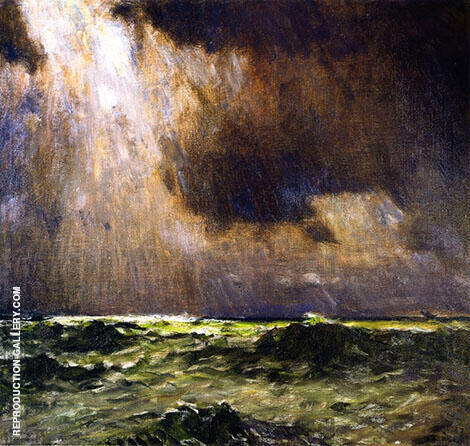 The Black Squall Painting By William Langson Lathrop