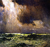 The Black Squall By William Langson Lathrop