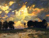 The Bonfire By William Langson Lathrop