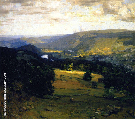 The Delaware Valley Painting By William Langson Lathrop