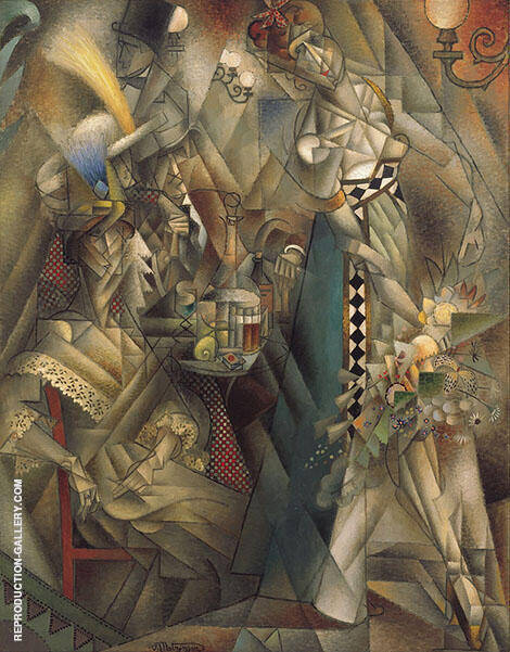 Dancer in a Cafe 1912 By Jean Metzinger