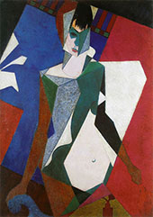 Lady at Her Dressing Table 1916 By Jean Metzinger