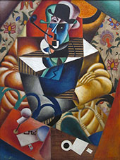 Man with a Pipe c1913 By Jean Metzinger