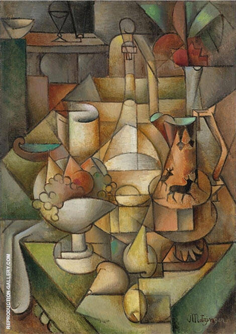 Still Life Painting By Jean Metzinger - Reproduction Gallery
