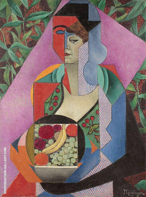 Summer 1916 By Jean Metzinger