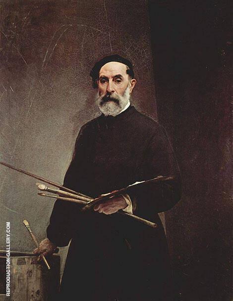 Italian Painter By Francesco Hayez