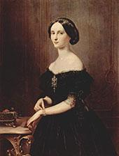 Portrait of a Venetian Woman c1852 By Francesco Hayez