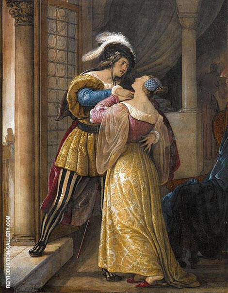 Romeo and Juliet By Francesco Hayez