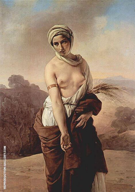 Ruth 1835 By Francesco Hayez