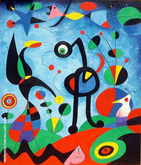 The Garden 1925 Painting By Joan Miro - Reproduction Gallery