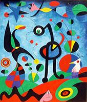 The Garden 1925 By Joan Miro
