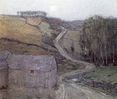 Country Road Near Solebury By William Langson Lathrop