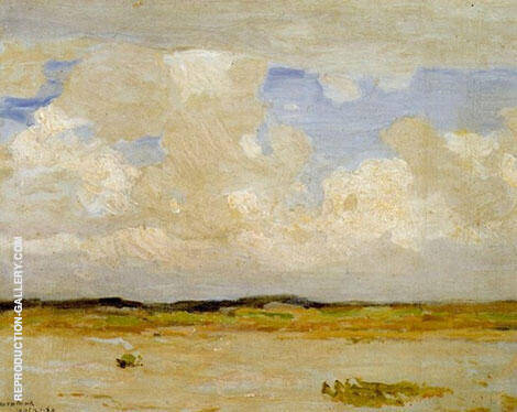 Montauk Painting By William Langson Lathrop - Reproduction Gallery