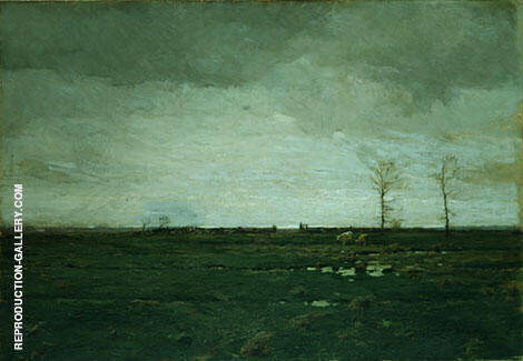 The Meadows 1897 Painting By William Langson Lathrop