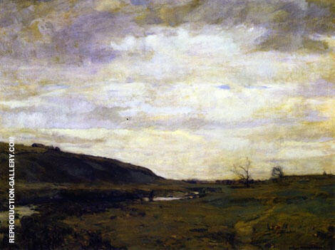 The Muskrat Hunter Painting By William Langson Lathrop