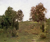 The Old Pasture Swale By William Langson Lathrop