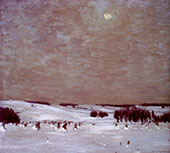 The Winter Moon By William Langson Lathrop