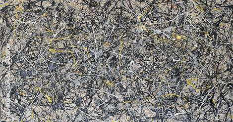 TR118 Painting By Jackson Pollock - Reproduction Gallery