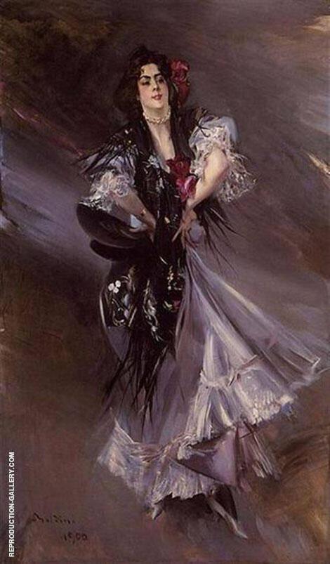 Anita de la Ferie By Giovanni Boldini