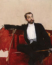 A Portrait of John Singer Sargent By Giovanni Boldini