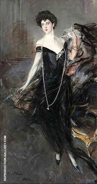 Franca Florio By Giovanni Boldini