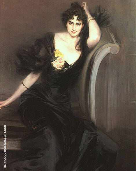 Lady Colin Campbell 1897 By Giovanni Boldini