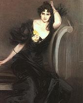 Lady Colin Campbell 1897 By Giovanni Boldini