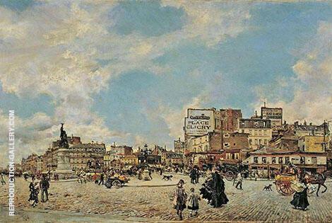 Place Clichy 1874 By Giovanni Boldini