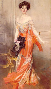 Portrait of Elizabeth Wharton Drexel 1905 By Giovanni Boldini