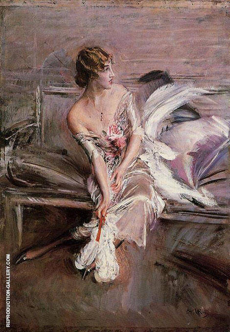 Portrait of Gladys Deacon 1908 By Giovanni Boldini