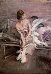 Portrait of Gladys Deacon 1908 By Giovanni Boldini