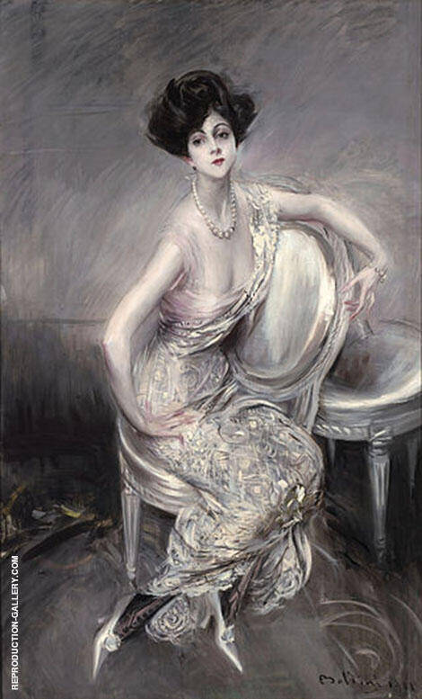 Portrait of Rita de Acosta Lydig 1911 By Giovanni Boldini