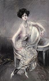 Portrait of Rita de Acosta Lydig 1911 By Giovanni Boldini