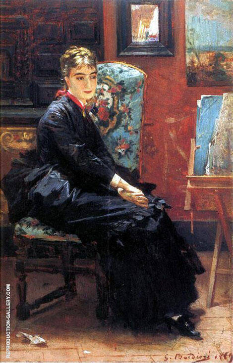 Rosina Pisani Painting By Giovanni Boldini - Reproduction Gallery